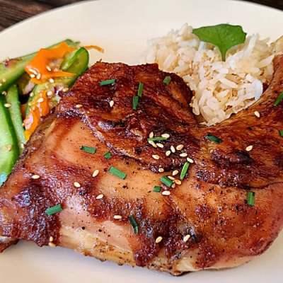 Baked Korean BBQ Chicken