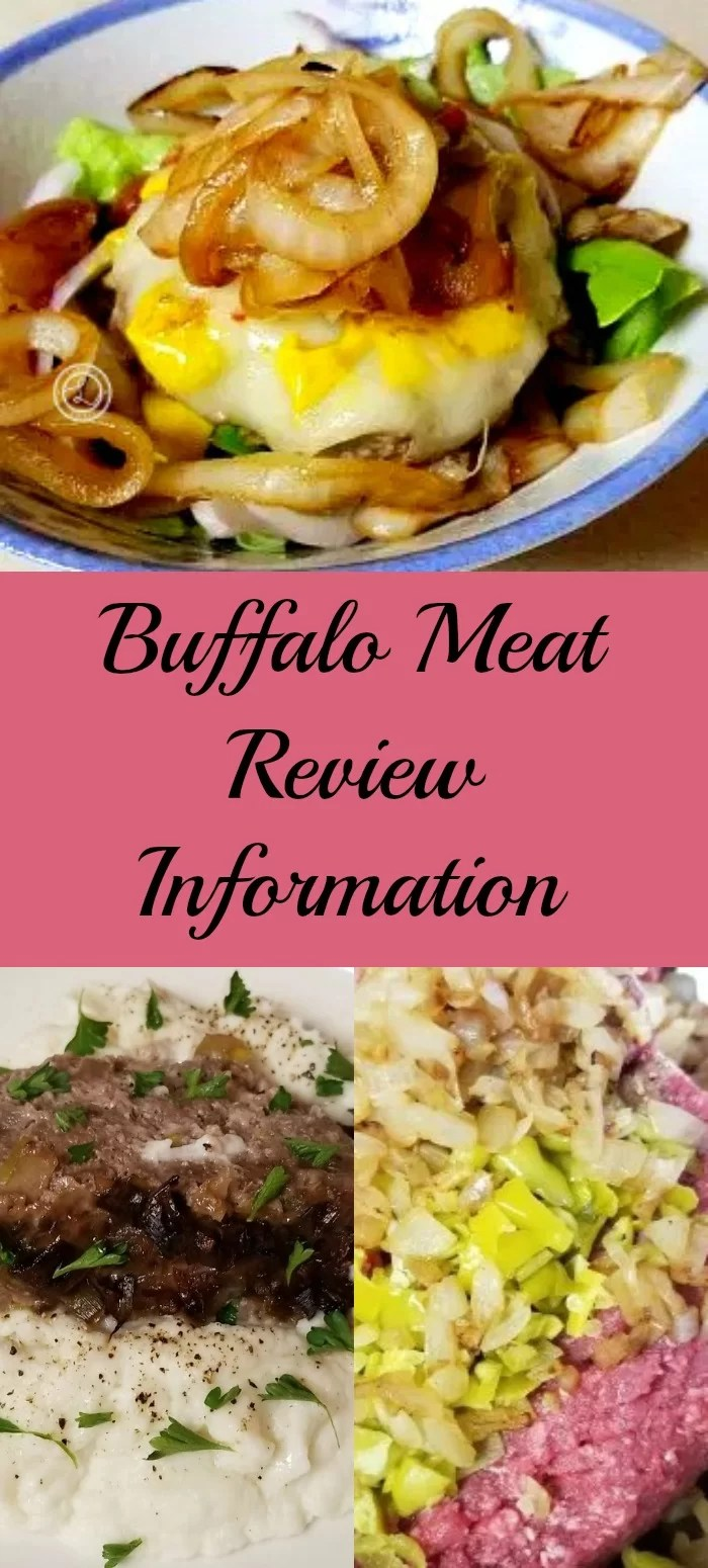 Collage: Top Buffalo Pepperoncini Burger. Bottom: Keto Buffalo Meatloaf
