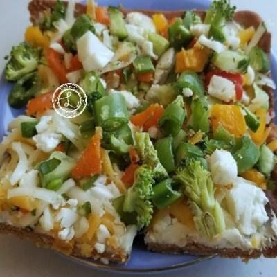 Gluten-Free Fresh Veggie Pizza