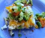 A slice of pizzza