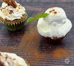 On top of mini cupcakes