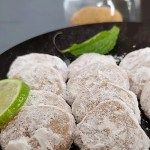 Dusted Treats Gluten-Free Key Lime Meltaway Cookies