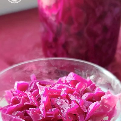 Swedish Sweet-Sour Red Cabbage