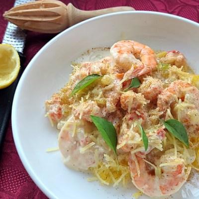 Gluten-Free Creamy Seafood Alfredo