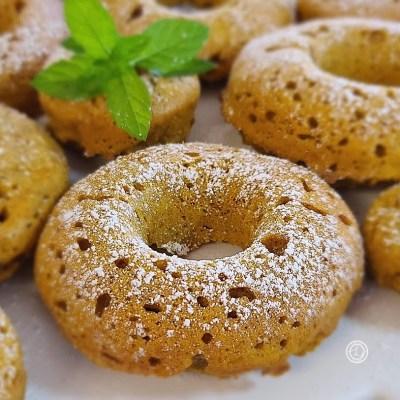 Gluten-Free Harvest-Pumpkin Cake Donuts