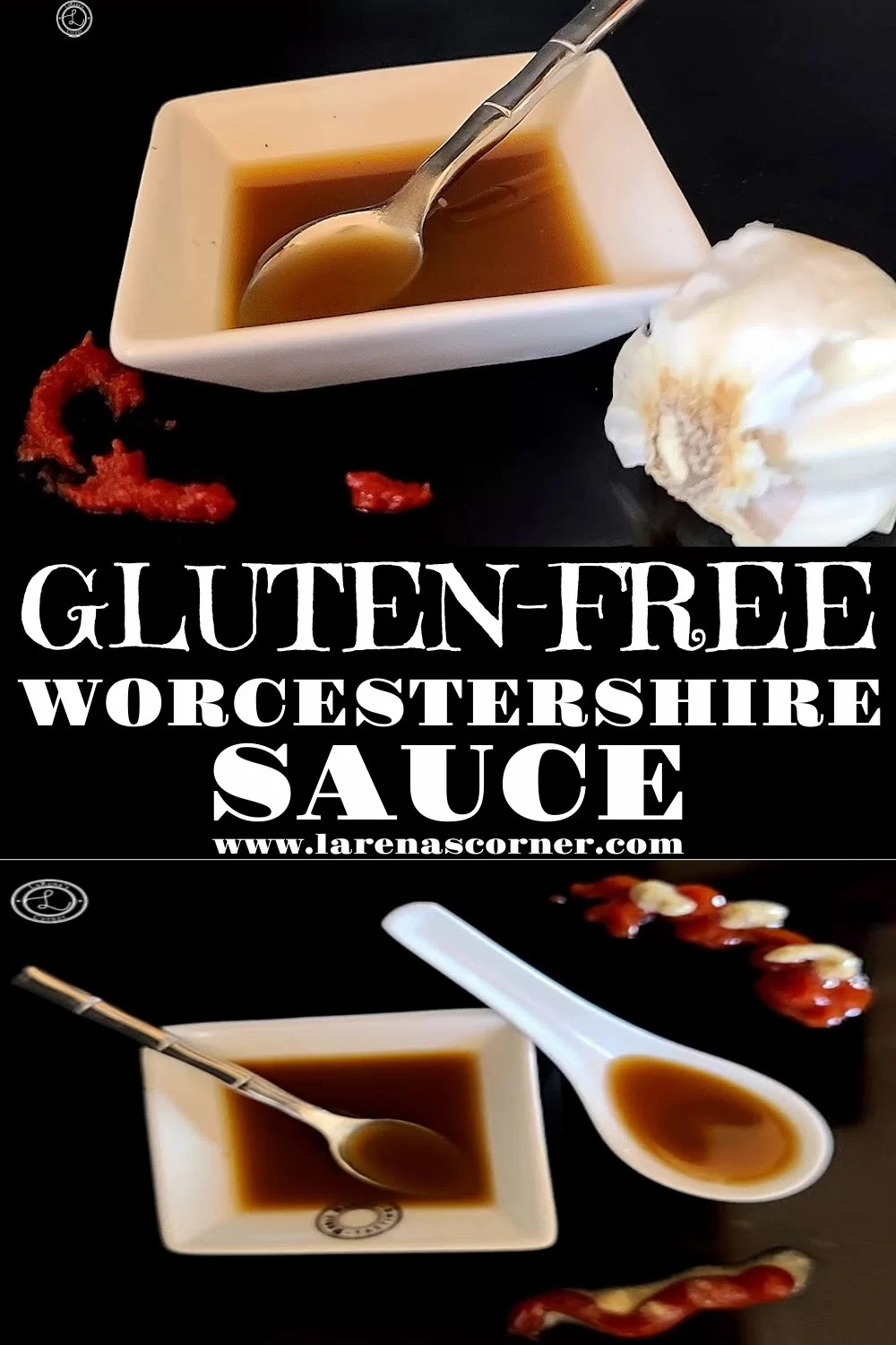 Gluten-Free AKA Worcestershire Sauce to add flavor to many dishes.
