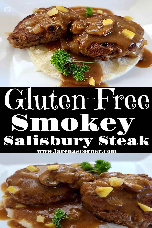 Two pictures of Smokey Salisbury Steak