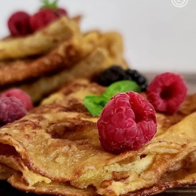 Gluten-Free Sweet Dessert Crepes