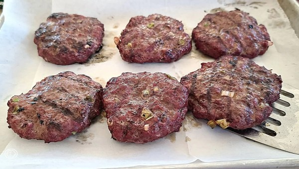 Cooked Burgers