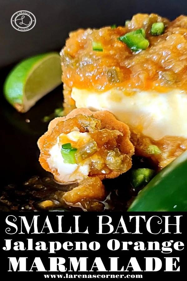 Small Batch Jalapeno Orange Marmalade