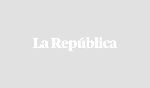 Capitán, la mascota de PPK, participó en dos desfiles militares. Foto: Captura
