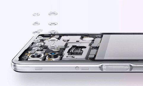 The Oppo A72 5G integrates a rear camera triple system.     Photo: Oppo