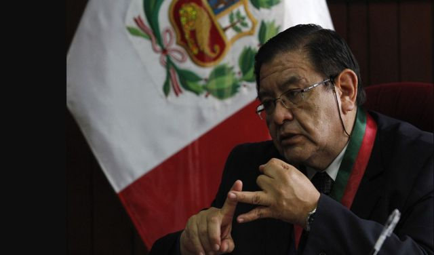 Jorge Salas indicó que fiscalizadores del JNE contribuirán con la PNP en actividades de control de candidatos en campaña. Foto: Jorge Cerdán/La República
