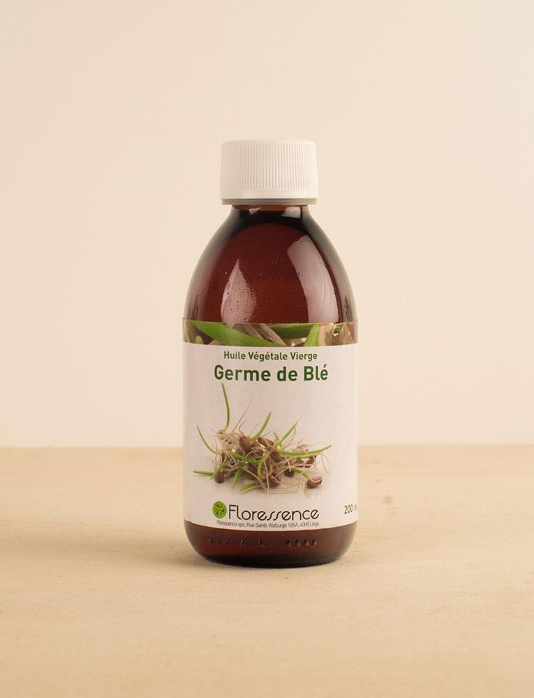La ressource soins corps visage huile germe de ble floressence local naturel bio belgique Zero déchet