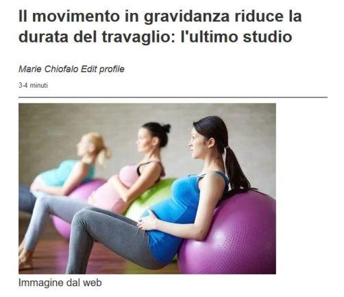 Movimento in gravidanza