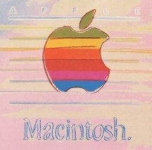 Apple (II.359), 1985. Screenprint