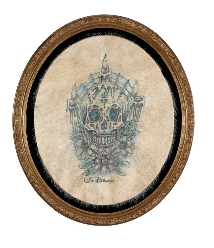 Skull candle, 2006
