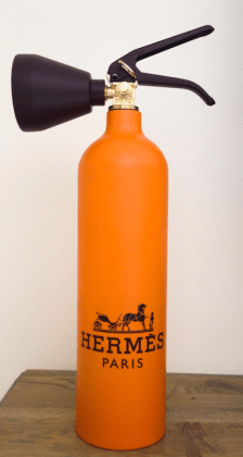 Hermes Orange Fire Extinguisher