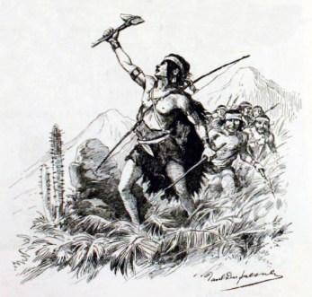 12-Lautaro menant les siens à la victoire (Source-Wikimédia Commons)