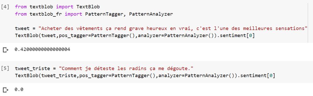 NLP pour l'analyse de sentiment de tweet avec Python
