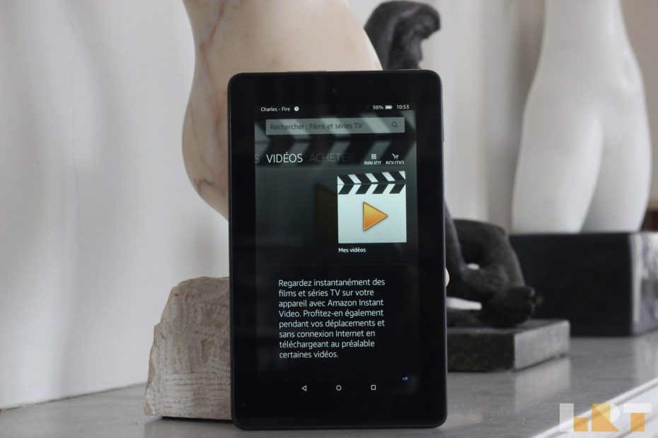 La Revue Tech Test Amazon Fire 7 tablette pas chère abordable Fire OS 5 Bellini