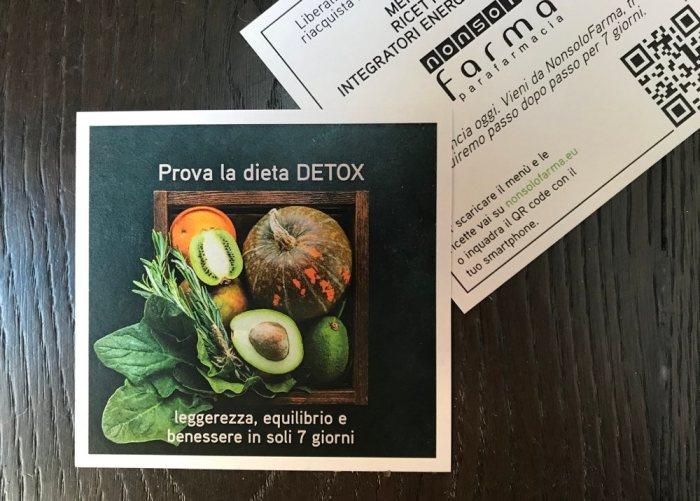 cartolina Dieta DETOX