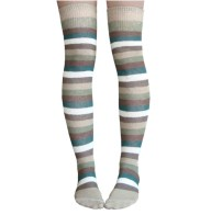 Army colored thigh high socks