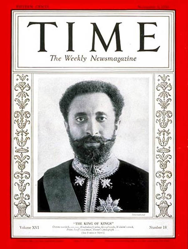 On the cover of TIME Magazine November 3rd 1930