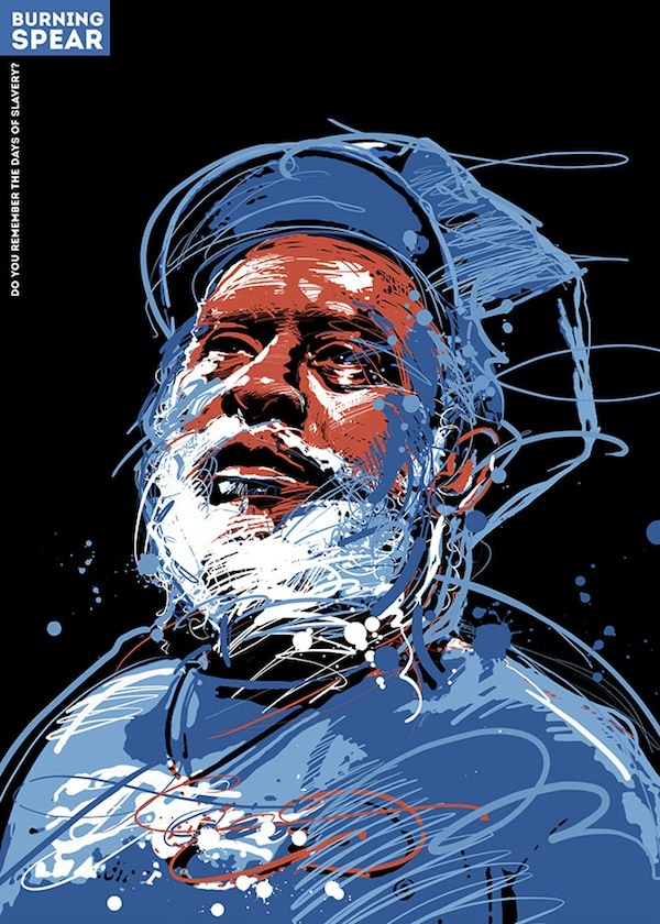 Burning Spear by Tomasz Bartz