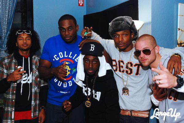 Collie, Los Rakas and crew