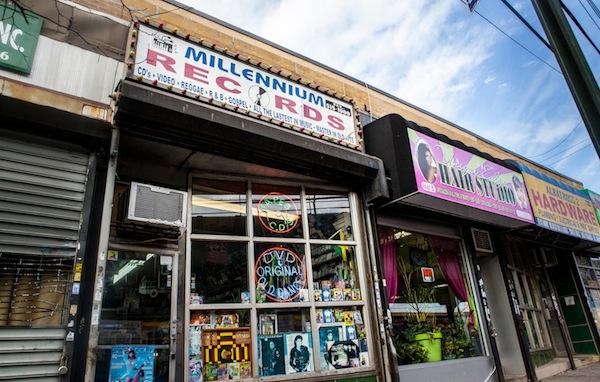 Millenium Records Bronx