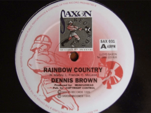 Dennis Brown Rainbow Country