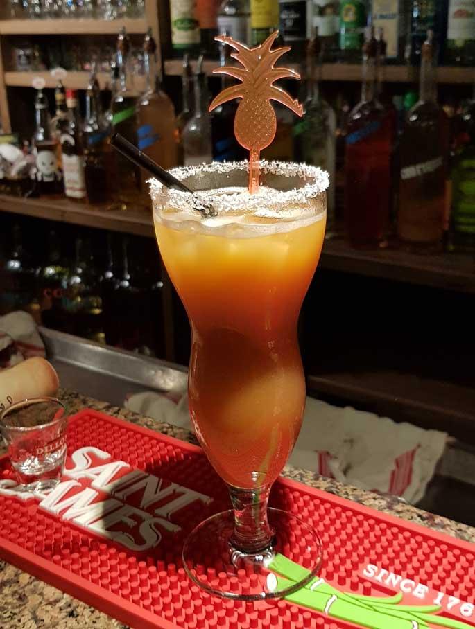 bar a cocktail aux Deux Alpes