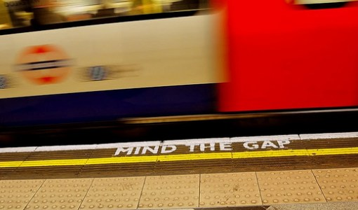 MInd the Gap on the London Underground