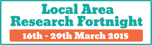 Local Area Research Fortnight logo large