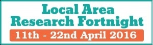 Local Area Research Fortnight 2016 Logo