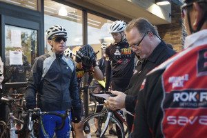 Photo-Marivel Guzman Ghost Biker Ride organized by Jax Bicycle Center owner, Dave Hanson