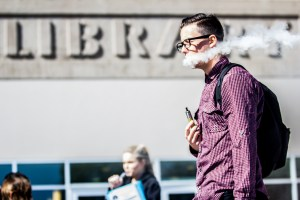 Photo by: Matt Corkill E-cigarettes have been proven to be a much healthier alternative to traditional cigarettes.
