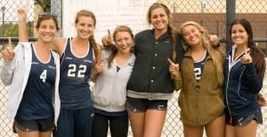 Irvine Valley College women's sand volleyball team won the state championship on April 25, at Irvine Valley College. By Adam Kolvites