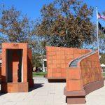 Richard White helped design and create Saddleback College's Veterans Memorial. (Anibal Santos)
