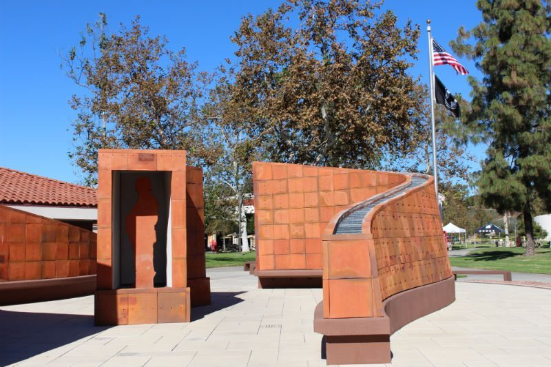 Veterans Week will be held near the Veterans Memorial at Saddleback College. (Photographer/Anibal Santos)