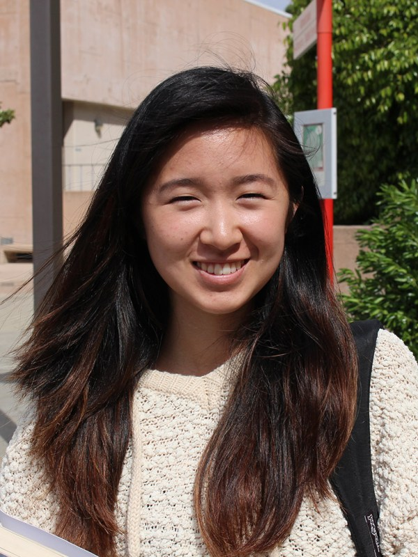 """It's like an indian or something."" (Chrystal Chao, 18, biology)"