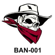 University Ole Southern California Sin Bad Skulls of Gauchos Valley
