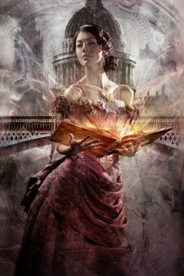 "The cover of ""Clockwork Princess (The Infernal Devices),"" the prequel to ""The Mortal Instrument"" series by author Cassandra Clare, was illustrated by fantasy illustrator Cliff Nielson."