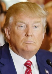DONALD TRUMP (Michael Vadon / [CC BY-SA 4.0], via Wikimedia Commons)