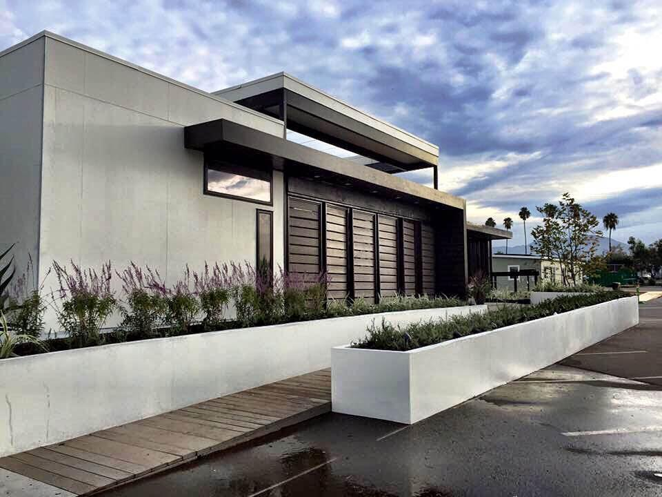 The exterior of Casa del Sol: Team Orange's project for the 2015 Solar Decathlon. (Yeo Gee Saun)