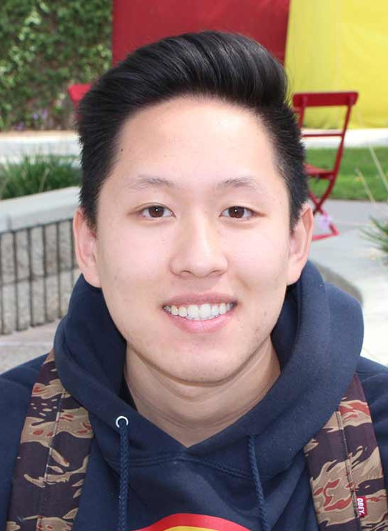 """KEVIN NGUYEN, 20, Business """"Tapping my foot a lot, when taking a test or nervous, usually."""""""