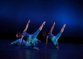This popular yearly student performance showcases numerous dance styles including ballet, modern, jazz, tap, hip hop and more, choreographed by the dance department faculty and guest artists. (courtesy of Saddleback College Arts)