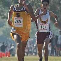 Saddleback College cross country Gauchos Fall 2015 Fresno Finalists. (Saddleback Sports Information)