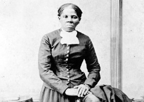 Harriet Tubman, picture taken in 1880. Known best as creating the Underground Railroad saving hundreds of lives.